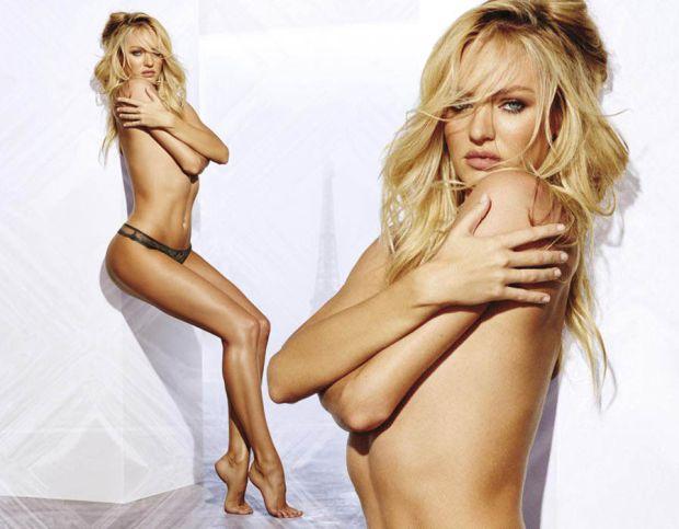 Candice Swanepoel dared to bare for Victoria's Secret's latest campaign