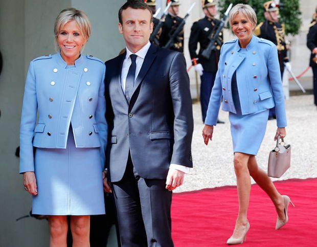 France's new first lady Brigitte Trogneux in pictures