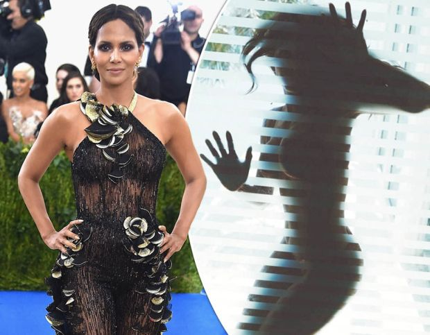 Halle Berry bares all as she appears naked