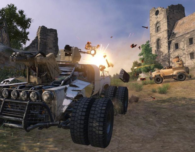 Crossout is a free MMO available on PS4 and Xbox One