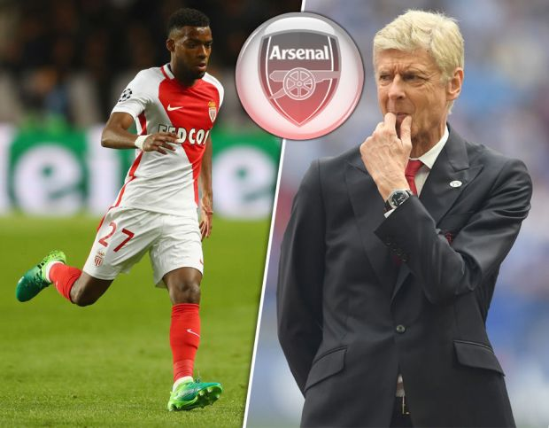 Arsenal predicted team Thomas Lemar