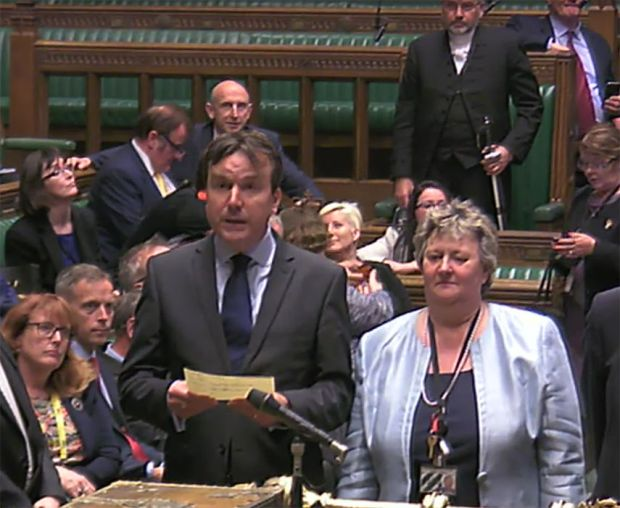 MPs debate the Queen's Speech in the House of Commons
