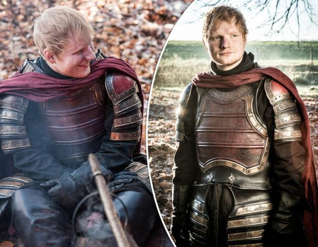 Ed Sheeran appears alongside Maisie Williams in Game of Thrones cameo