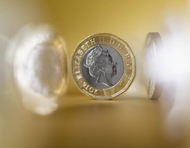A faulty £1 coin which has the 2016 date on one side and 2017 in micro-inscriptions around the edge of the reverse is worth £3,000