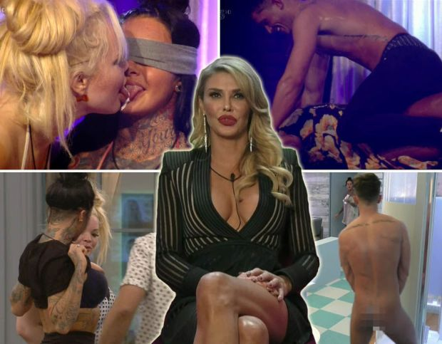 Celebrity Big Brother 2017: Saucy antics