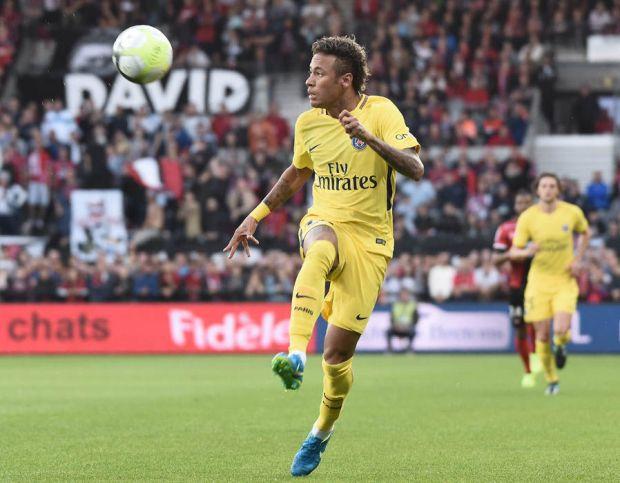 Neymar PSG debut Guingamp Barcelona