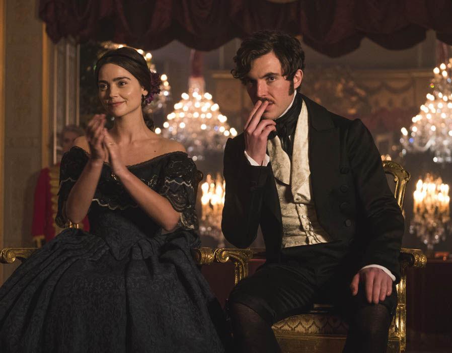 Victoria and Albert watch the ballet