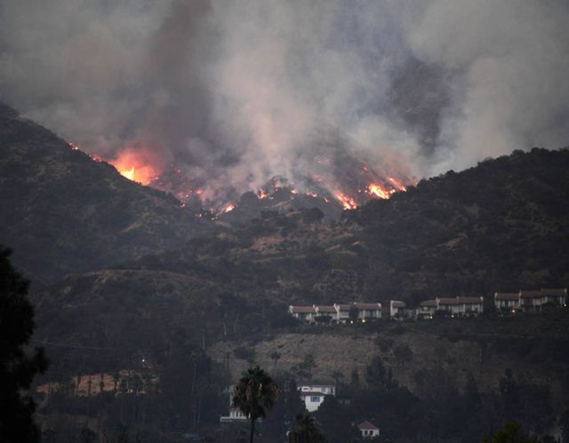 Image result for Largest wildfire in Los Angeles