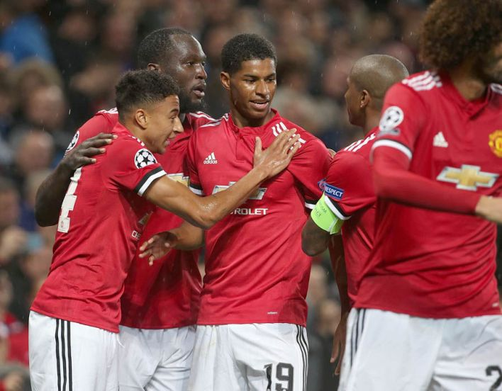 Marcus Rashford debut record Manchester United