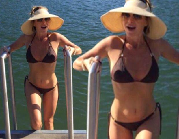Amanda Holden flaunts incredible bikini body