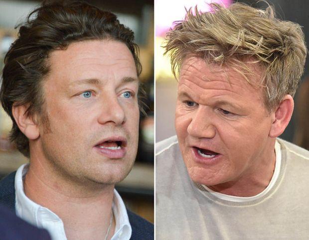 Jamie Oliver v Gordon Ramsay