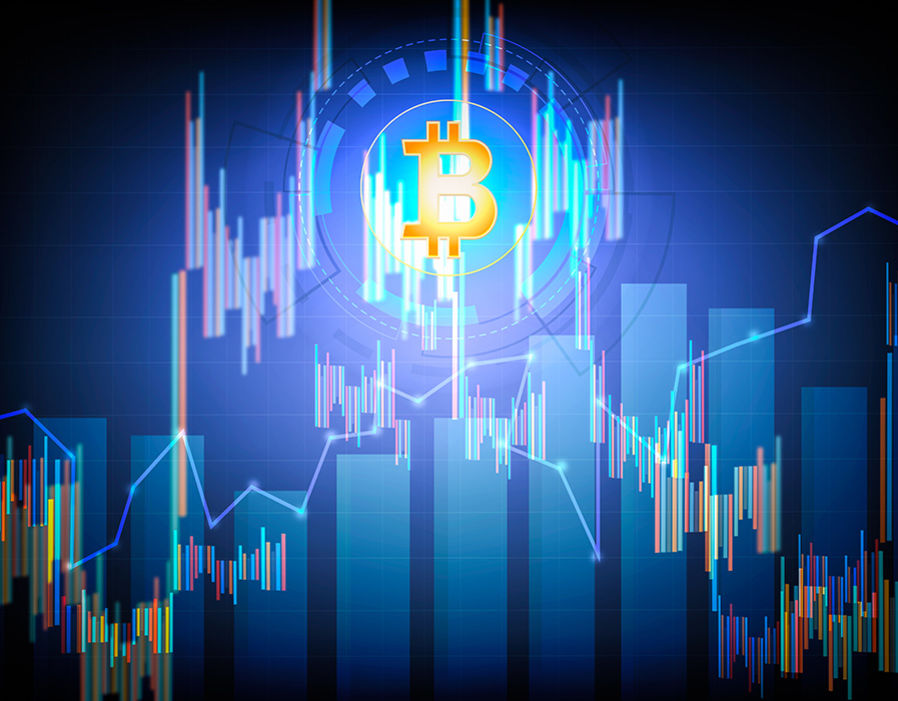 Bitcoin stock on virtual screen cryptocurrency graph. Business finance and digital technology concept  Ripple price LIVE: XRP rises slowly past $2 as bitcoin and Ethereum rise | City & Business | Finance 328419