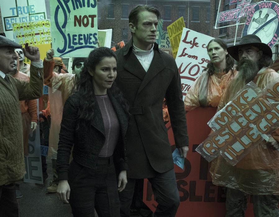 Meet the cast of Netflix's Altered Carbon