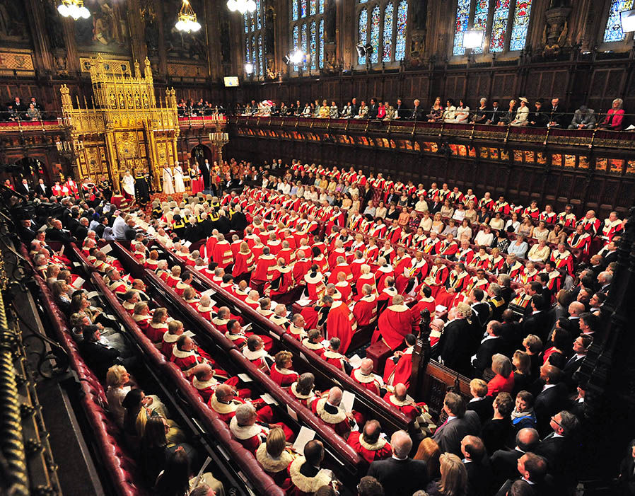 Queen Elizabeth II Attends The State Opening Of Parliament  Brexit LIVE updates: Lords DEFEAT Government with 'meaningful vote' amendment | Politics | News 354127