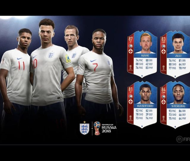 Ea Sports Reveals The England Player Ratings For Its Upcoming World Cup Update