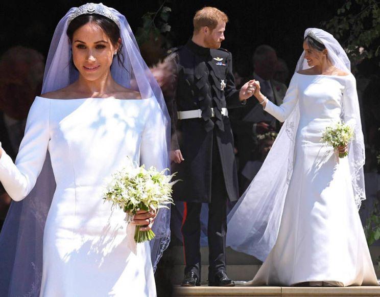 Image result for meghan markle wedding dress