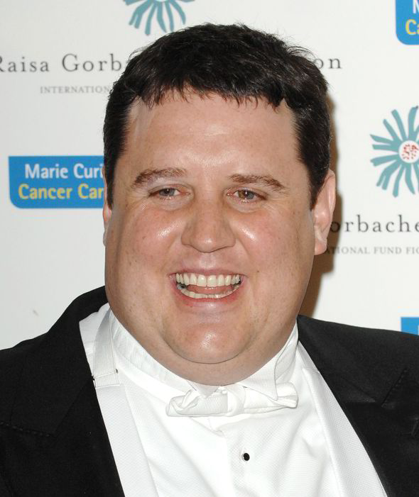 """Peter Kay - """"I met a Dutch girl with inflatable shoes last week, phoned her up to arrange a date but unfortunately she'd popped her clogs."""""""