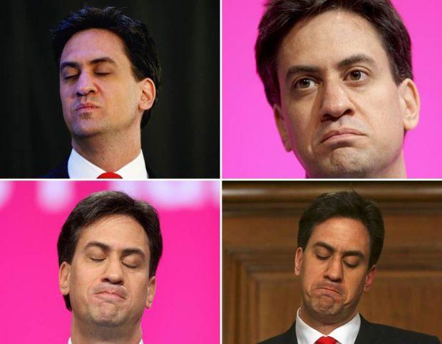 Ed Miliband's face