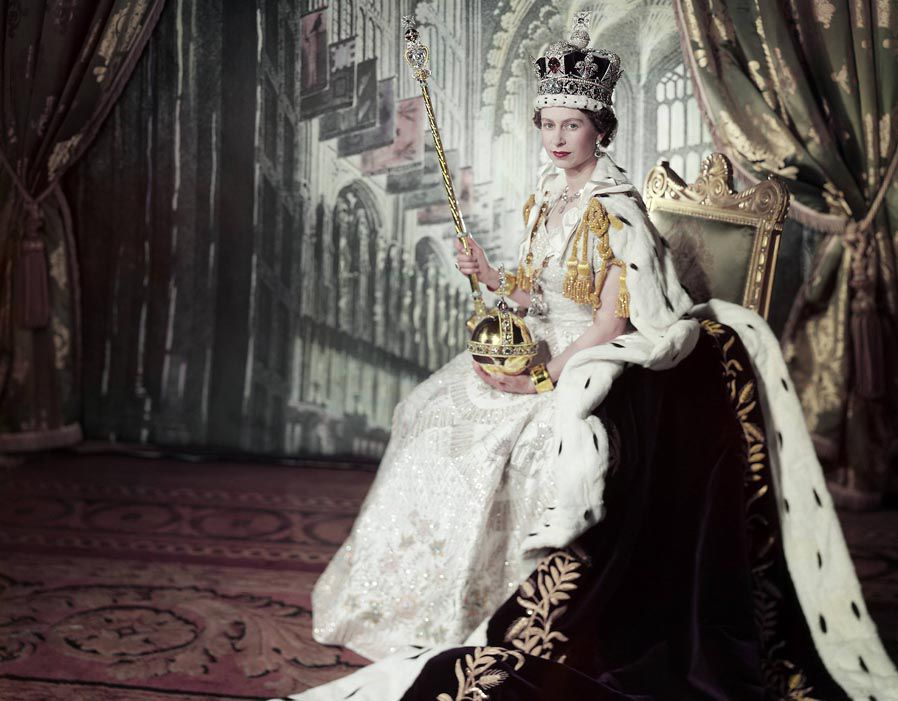 Image result for elizabeth ii coronation