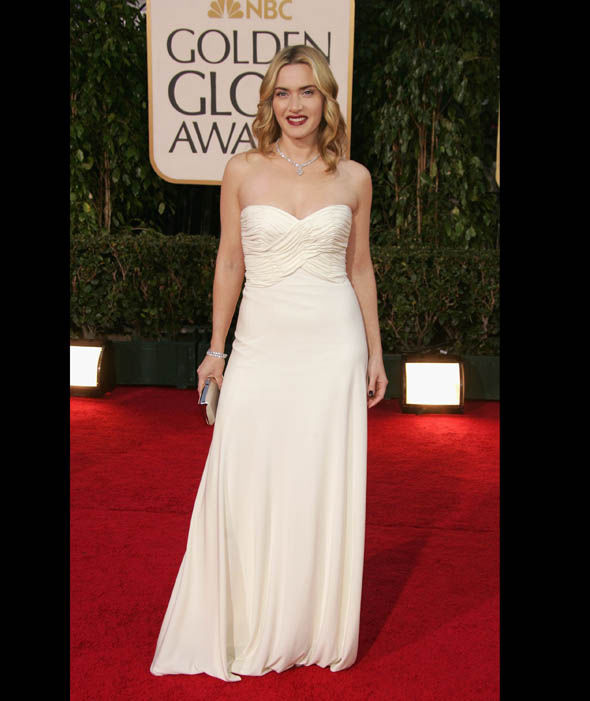 Kate Winslet 64th Annual Golden Globe Awards Beverly Hills ...