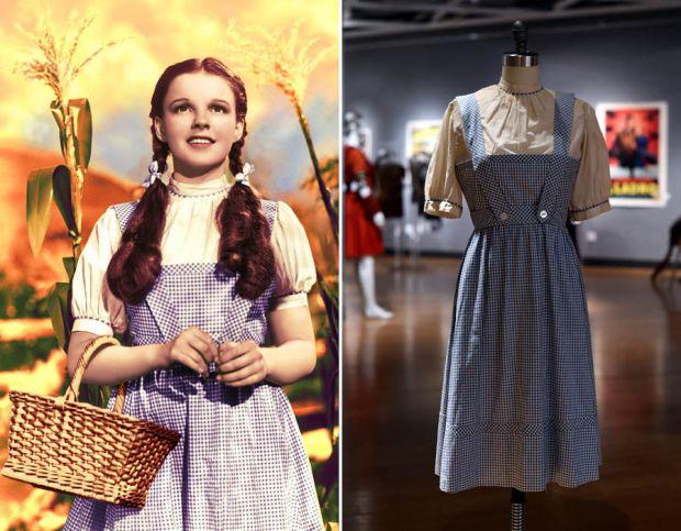 Judy Garland Wizard Of Oz dress