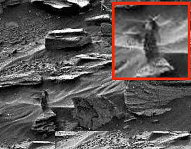 Weird findings on Mars