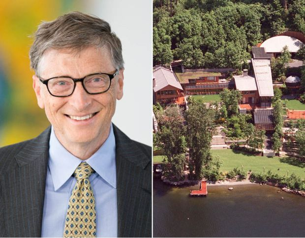 1. Bill Gates - $75 billion: Co-founder of Microsoft, Bill dropped out of Harvard University and became the richest man in the world