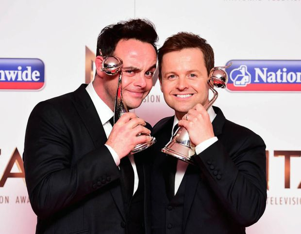 Ant and Dec NTAs tv presenter of the year