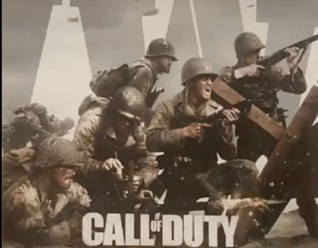 Leaked Call of Duty WW2 video screengrabs