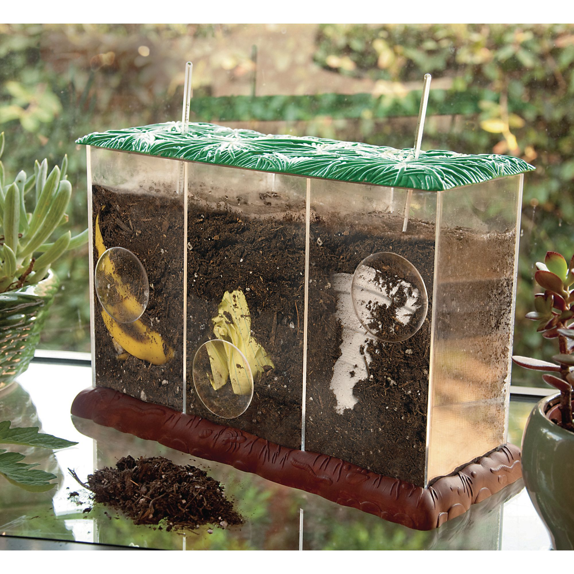 See Through Compost Containers