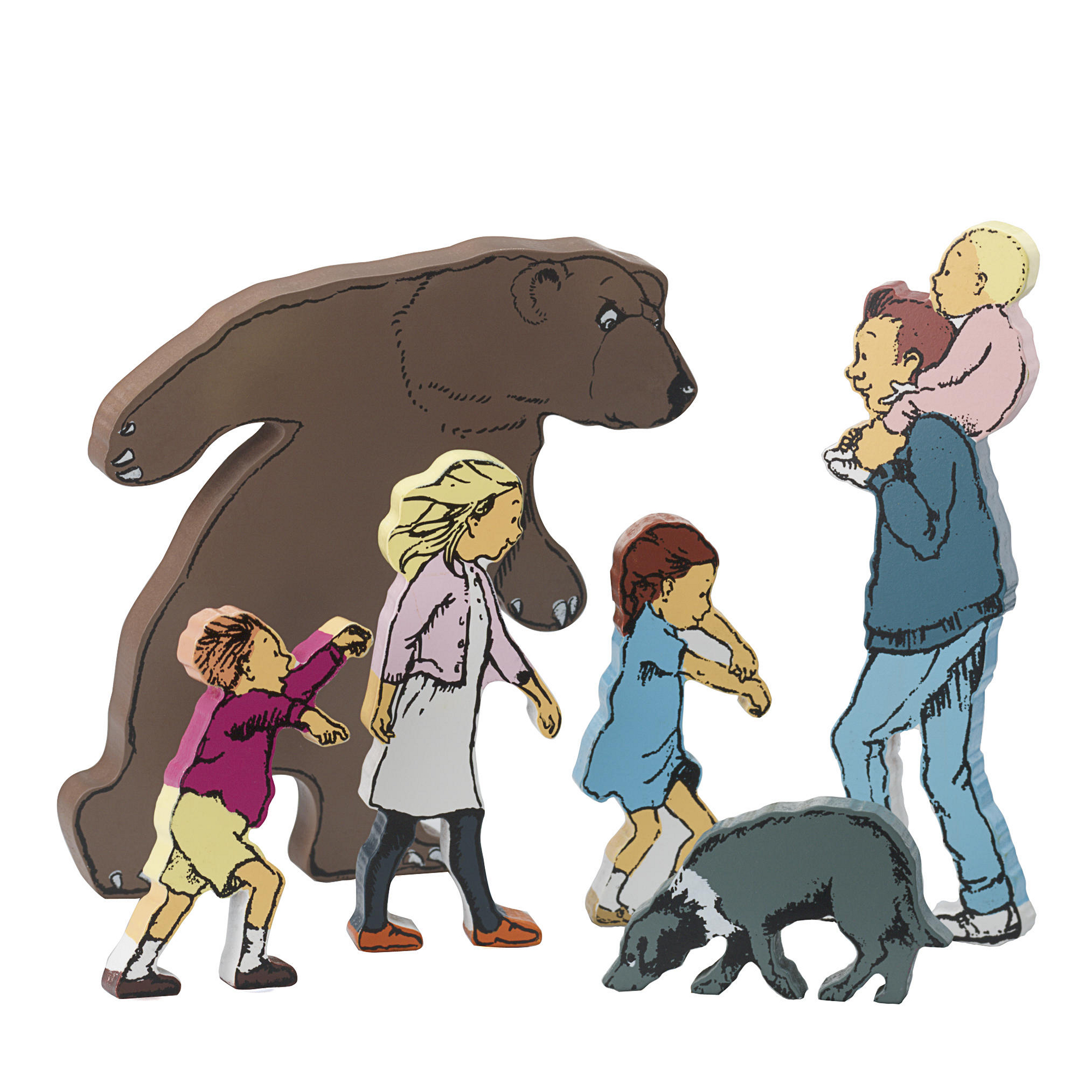 We Re Going On A Bear Hunt Character Set Pack Of 6