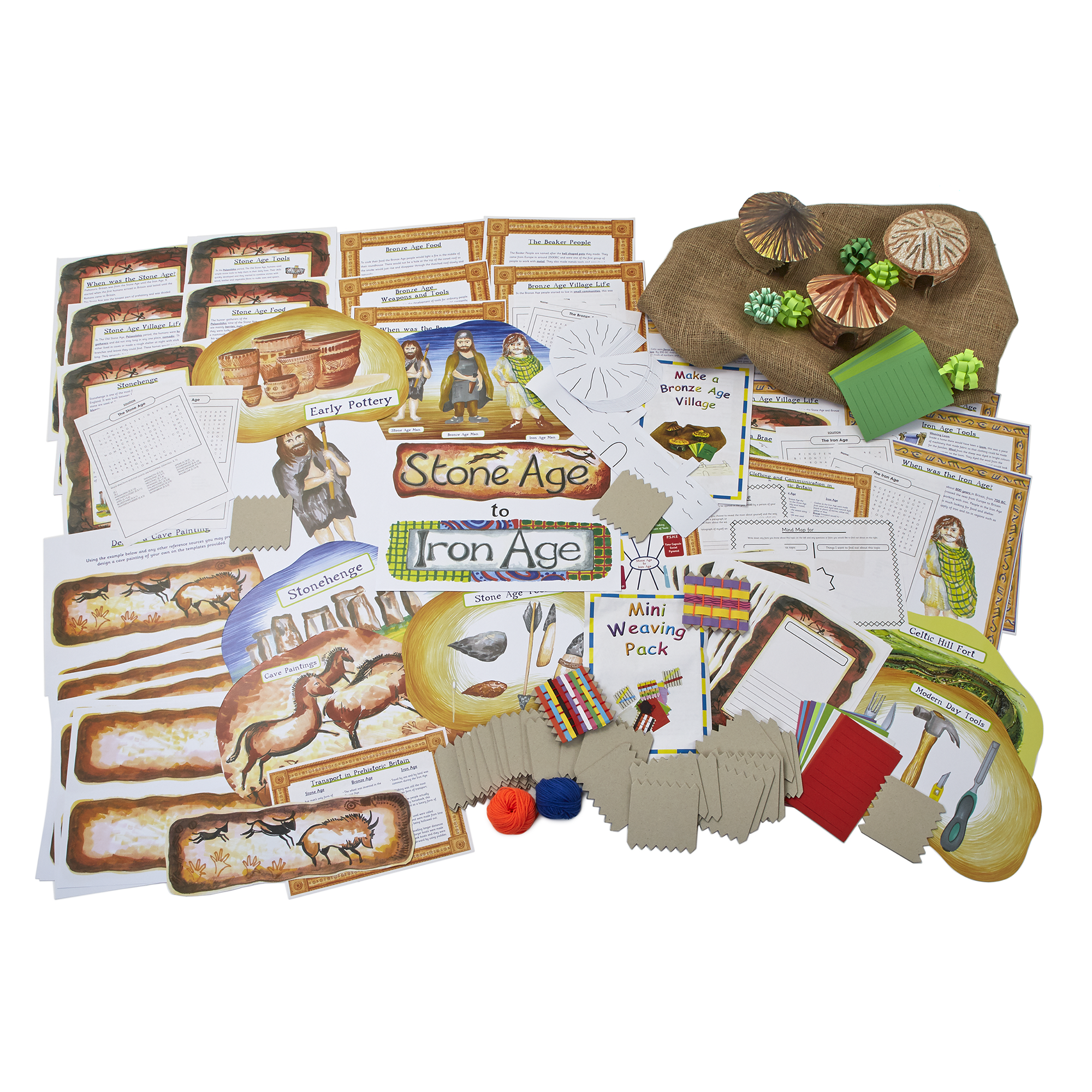 Stone Age To Iron Age Pack