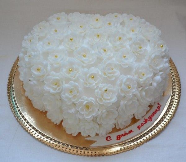 Как украсить торт кремом - рецепт с пошаговыми фото / Меню ...