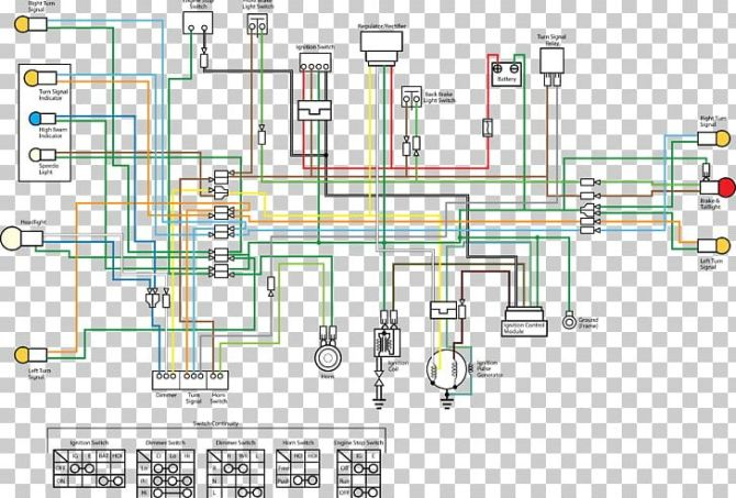 wiring diagram honda wave series electrical wires  cable
