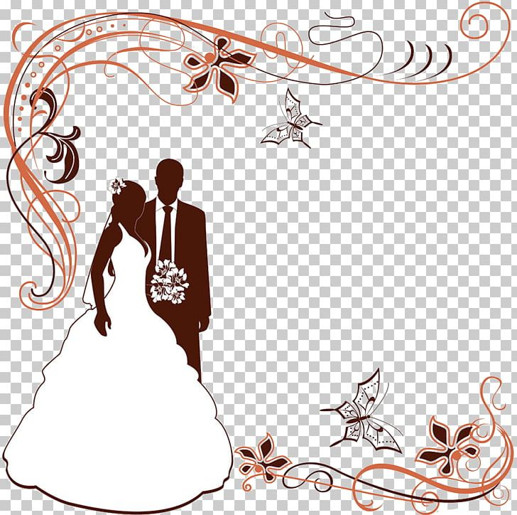 Wedding Invitation Png Clipart Border Frame Vector Bride Certificate Free