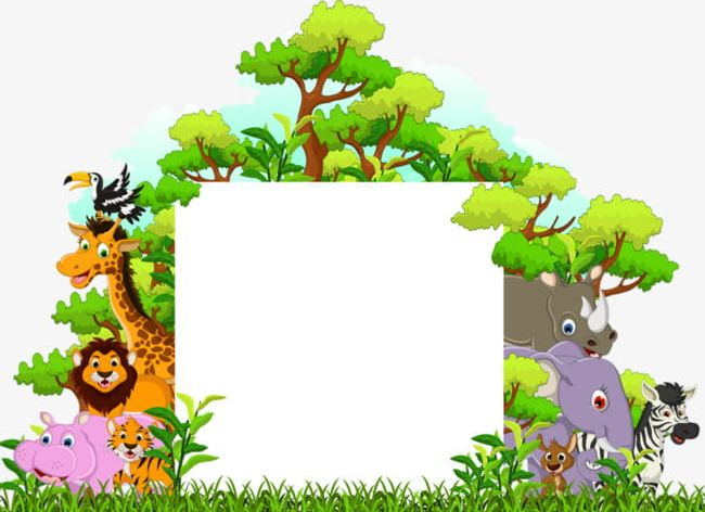 Homepage / tiger animal / images of tiger in a forest outline. A Variety Of Forest Animals Png Clipart A Clipart Animal Animals Clipart Animals Clipart Elephant Free