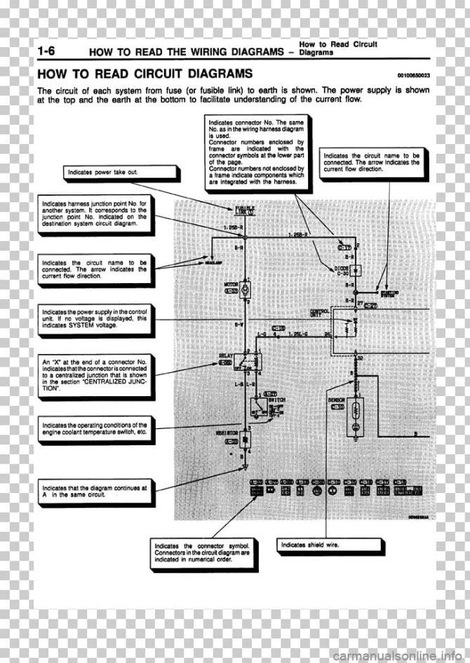diagram mitsubishi pajero electrical wiring diagram