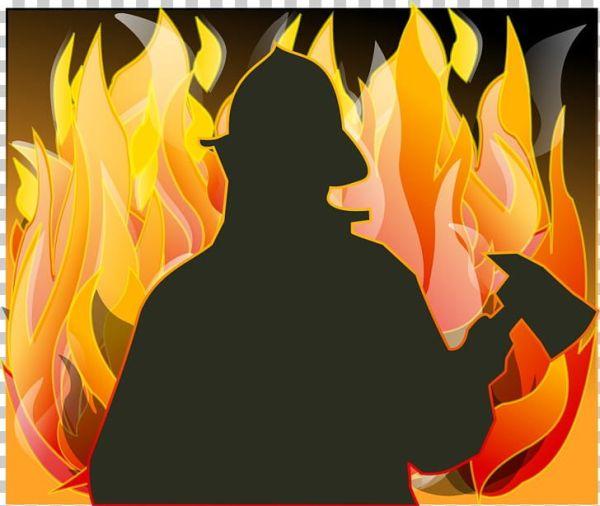fireman silhouette clip art # 23
