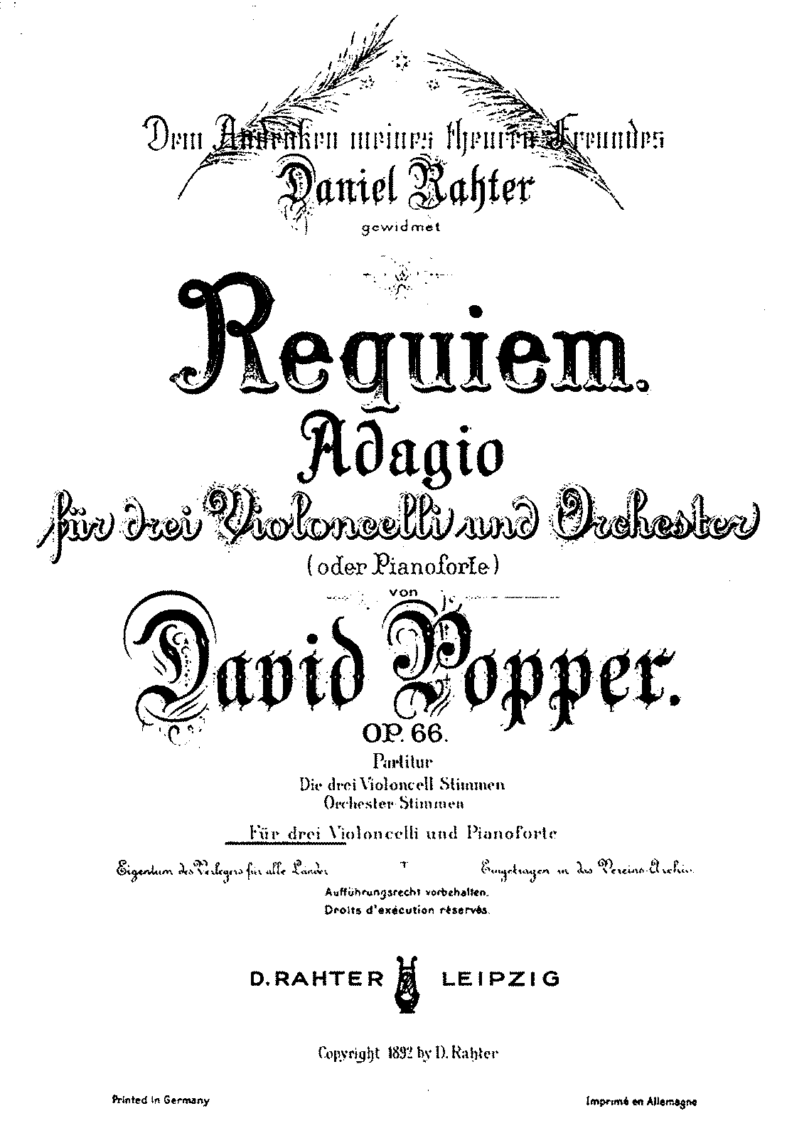 per 3 violoncelli