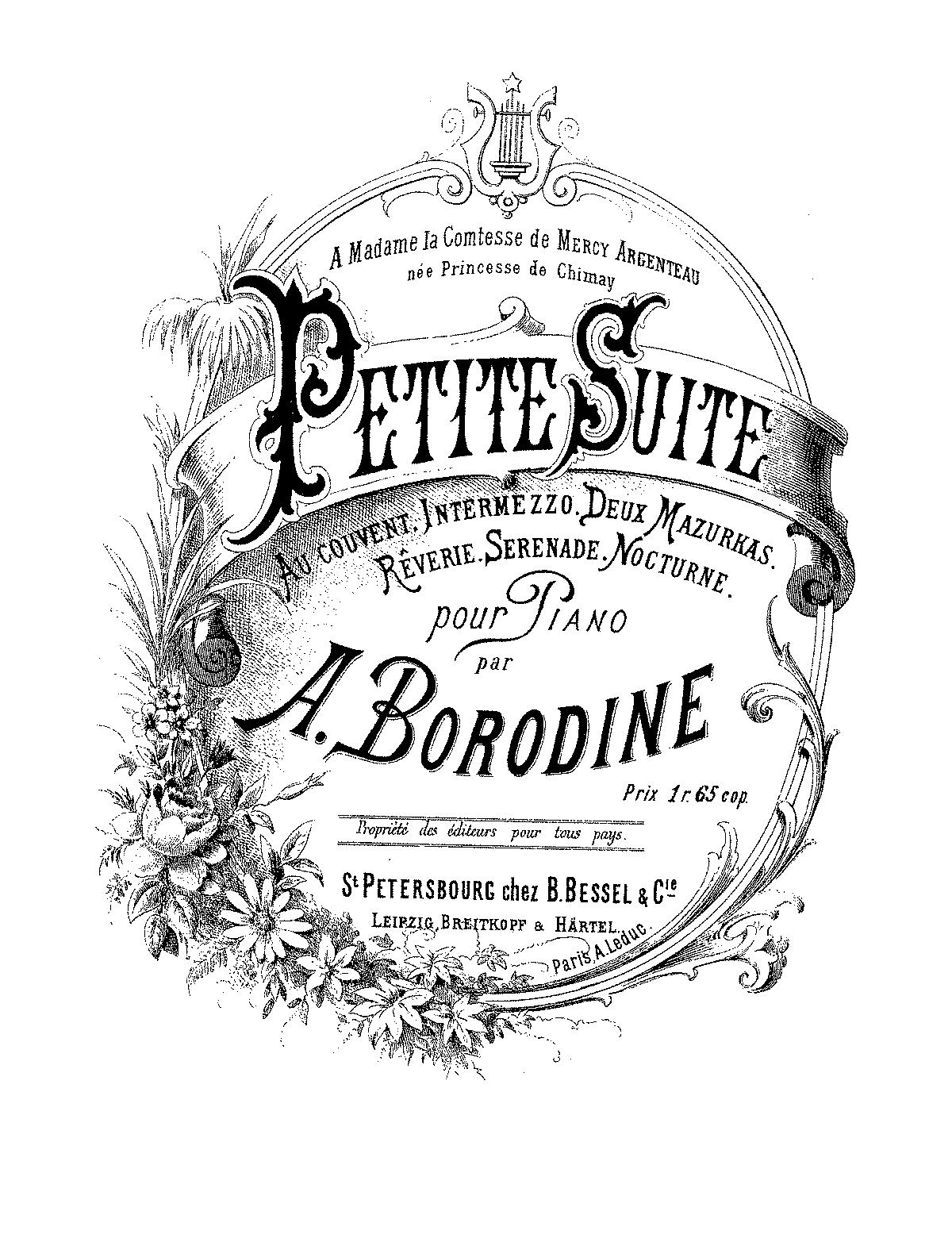 Borodin, Petite Suite