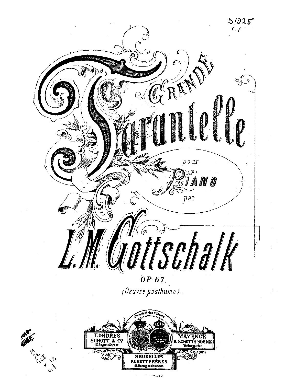 Gottschalk, op. 67