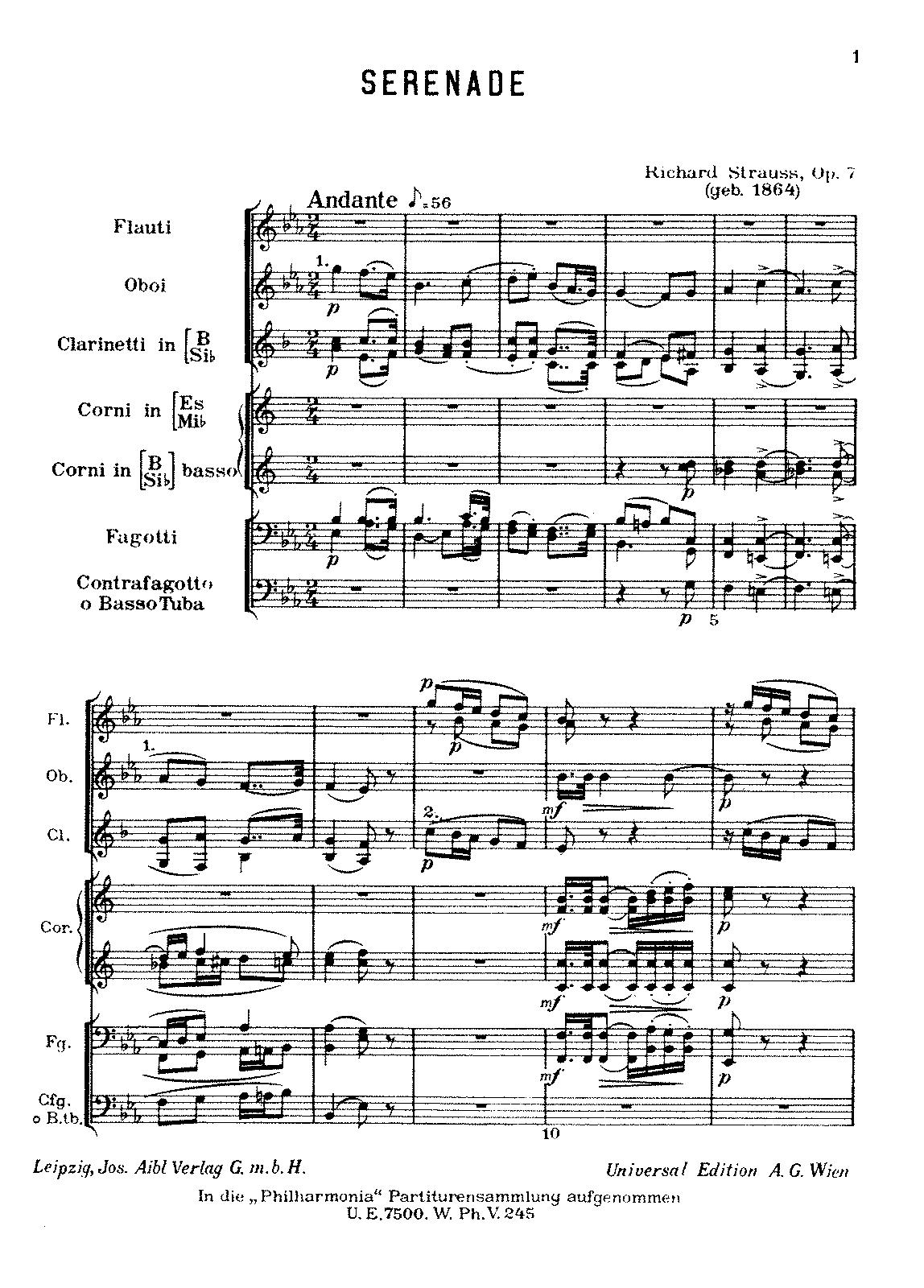 Strauss op. 7