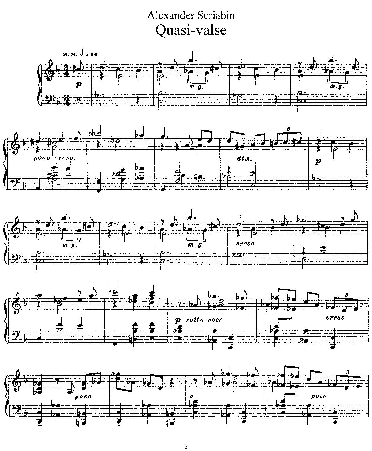 Skrjabin, op. 47