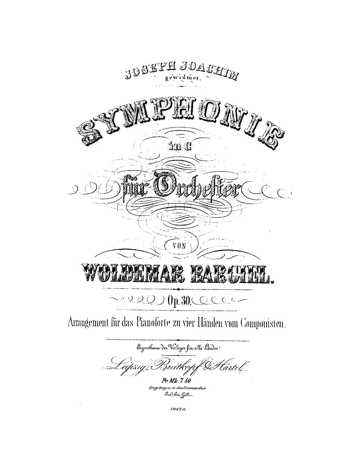 Bargiel, op. 30