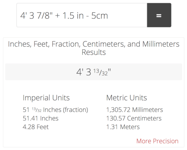 Inch Fraction Calculator - Find Inch Fractions From Decimal and