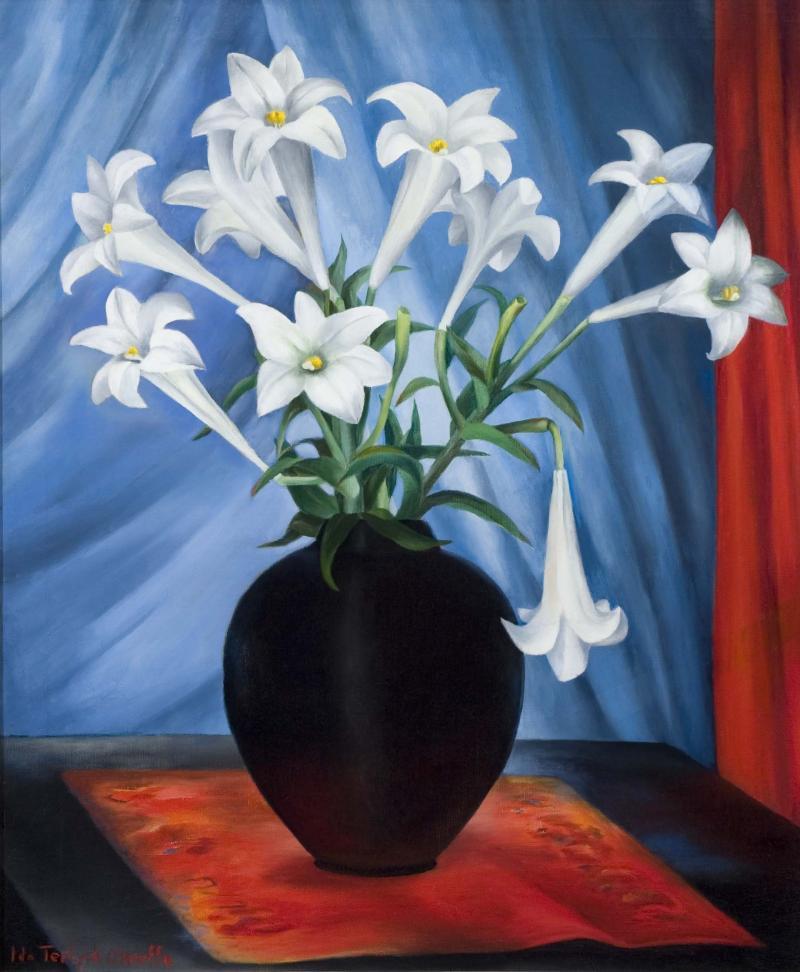 Ida Ten Eyck OKeeffe The White Lilies