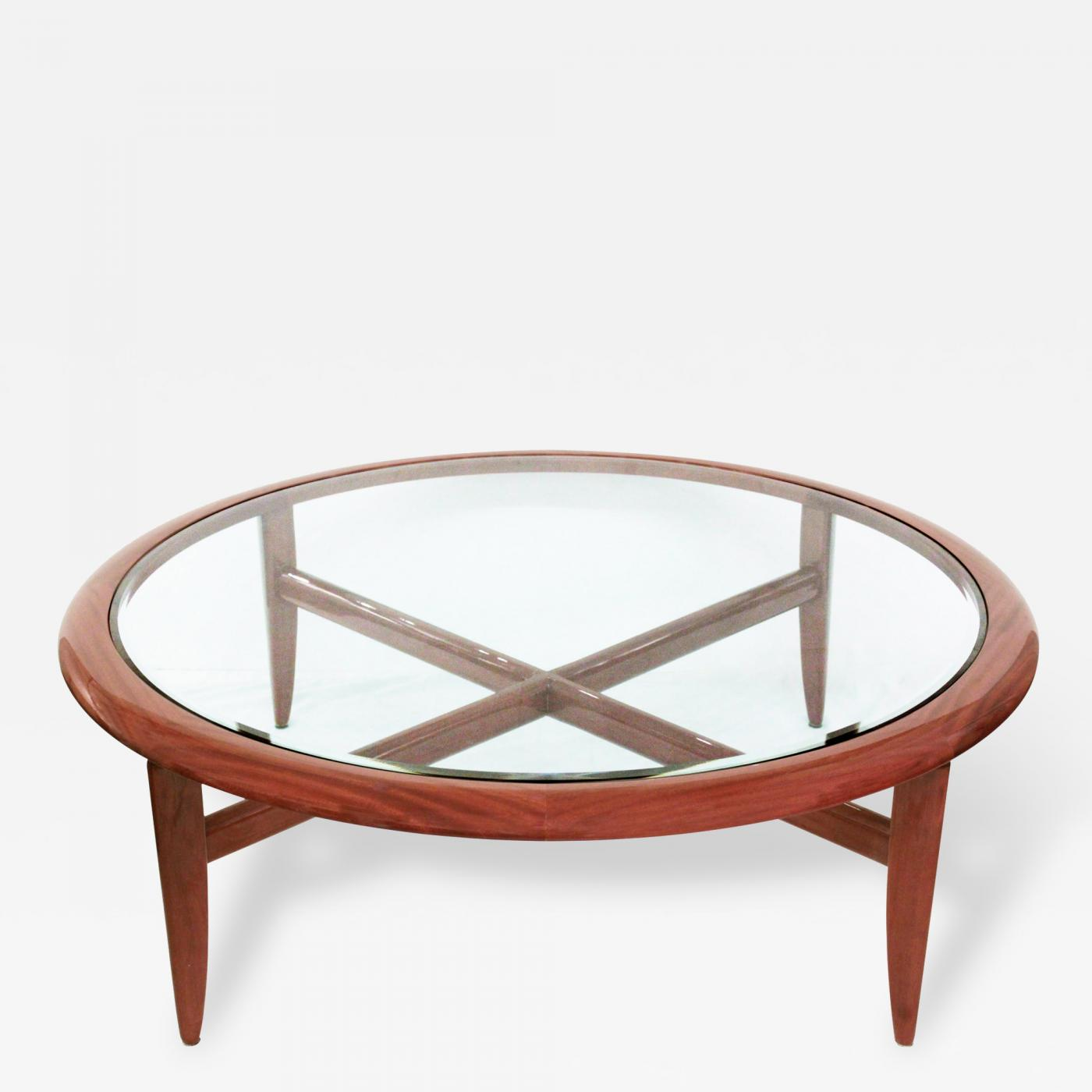 adam tihany mahogany coffee table by adam tihany for pace collection