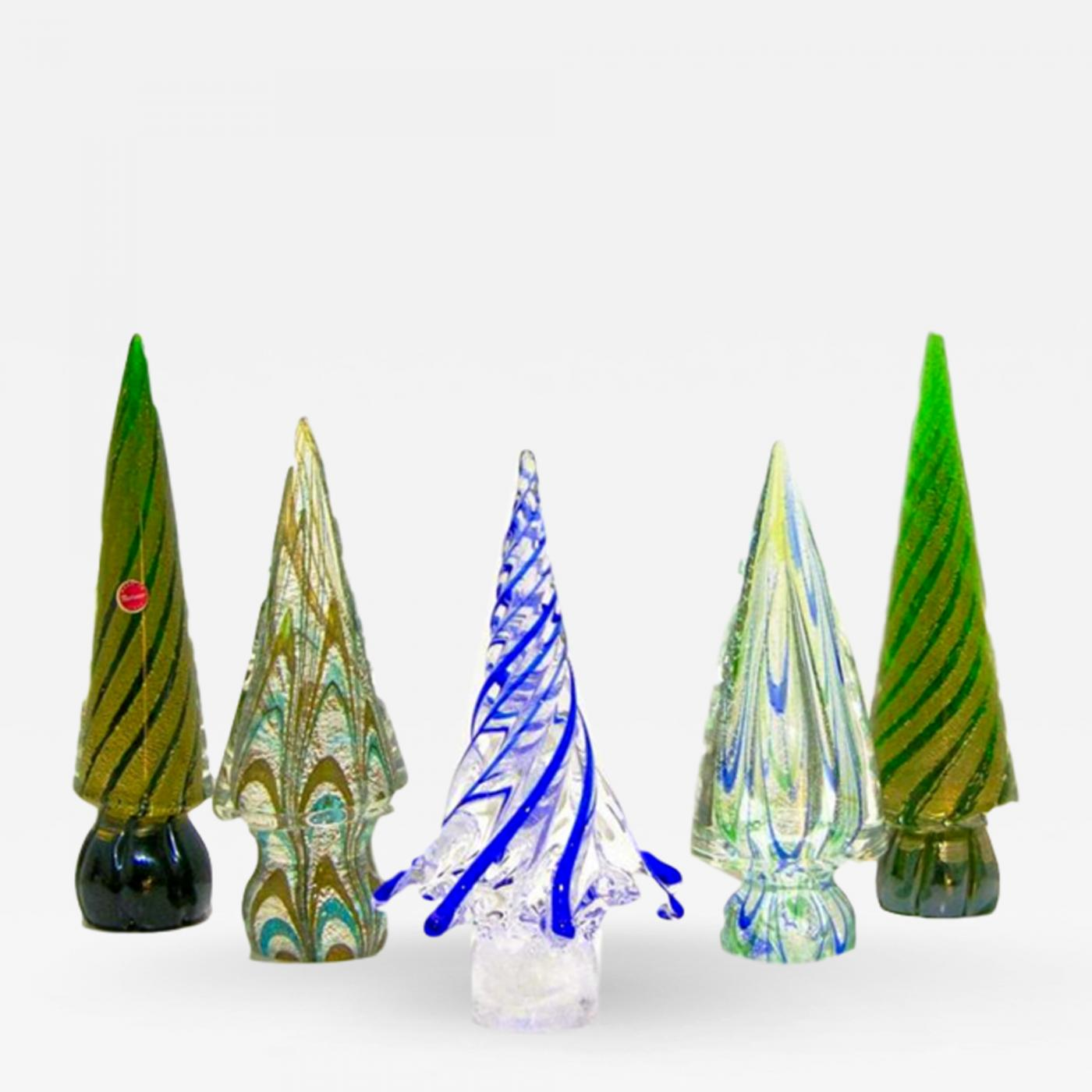 Awesome Picture Of Venetian Glass Christmas Tree