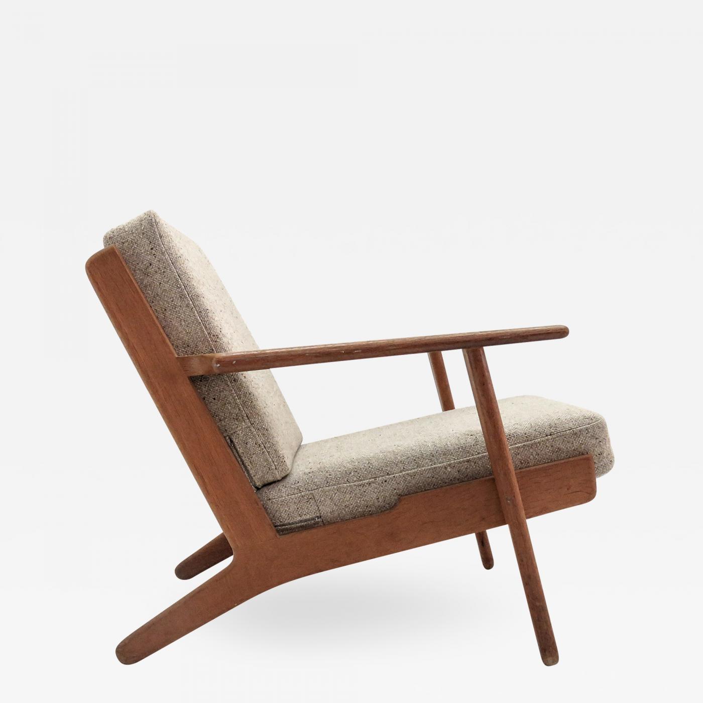 Hans Wegner Ge 290 Lounge Chair By Hans J Wegner