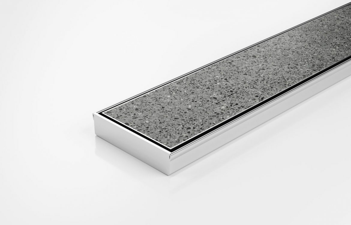 tile insert linear drainage system